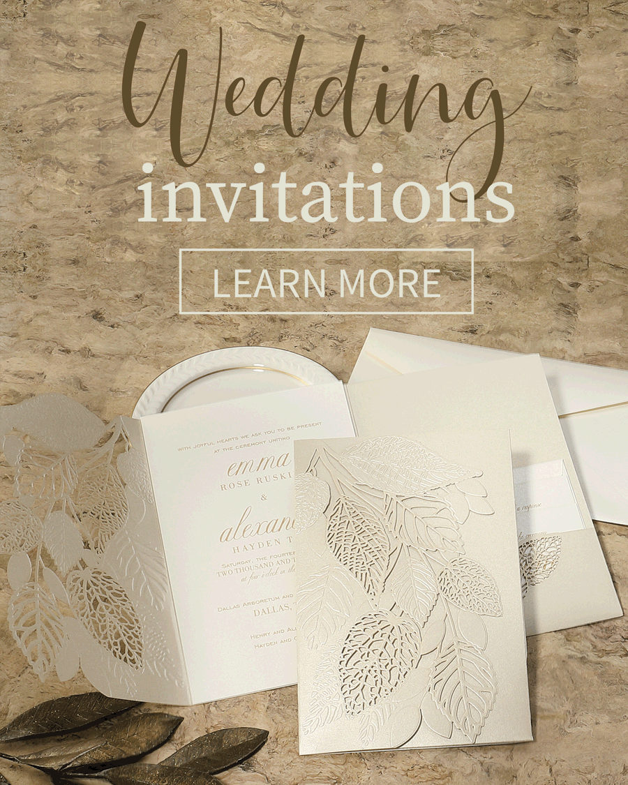 weddng invitations mobile banner